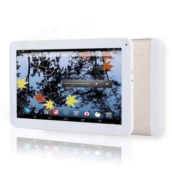 AVOSD S120 quad-core Android 3G tablette avec 1 Go de RAM, ROM de 8 Go - or