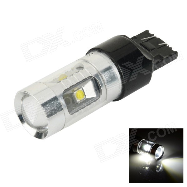 SENCART T20 / 7440 / W21W / W3X16D 30W XP-E 7000K 400lm White Car Lamp