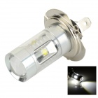 Sencart H7 / PX26d 30W XP-E LED Auto Foglight White Light 7000K 400lm - Silver (DC 12 ~ 24V)