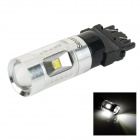SENCART 3156 / P27W / W2.5X16D 30W XP-E LED Car Light White 7000K 400lm (DC 12~24V)