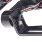 FPV HJ-13 3-eje cardán Brushless con regulador para GoPro 3 - negro