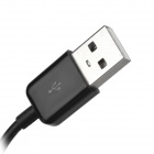 USB Male to 2-USB Female + 1-Micro USB Male Adapter Hub Cable - Black