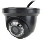 COTIER 720P 1MP Wireless Home Dome IP Surveillance Camera w/ 15m Night Vision - Black (EU Plug)