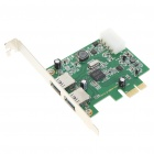 USB 3.0 Super Speed ​​2-Port PCI Express Card (5 Gbps)