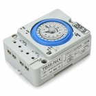 TB35-N ABS 12H Time Set Switch - Grey + Blue (AC 100~240V)