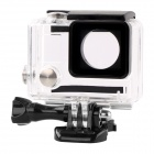 TOZ Professional Water-resistant Camera Housing Case for GoPro Hero 4 / 3+ / 3 - Black + Transparent