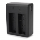 Dual-Slot Battery Charging Dock w/ USB Charger for SJ4000 / SJ4000 Wi-Fi