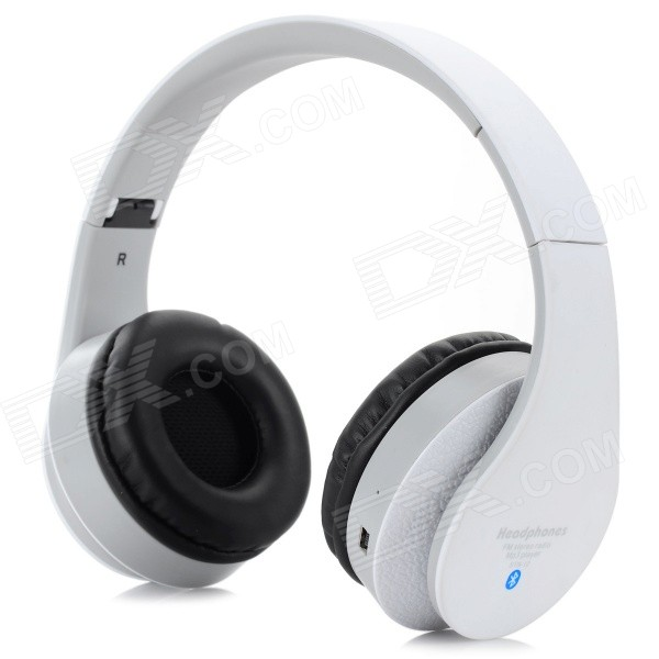 STN-12 casque bluetooth V2.1 casque universel pliable - blanc