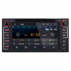 joyous 2-Din android 4.4 DVD-spiller m / GPS, Wi-fi for toyota - svart
