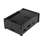 Protective Acrylic Case for Raspberry Pi 2 Model B & Raspberry Pi B+ - Black