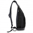 Oiwas Outdoor Cycling Waterdrop Style Single Shoulder Bag - Black
