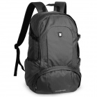 Oiwas Outdoor Travel / Sports Nylon Zipper Opening Backpacks - Grey