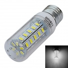 Jiawen E27 7W LED Corn lampe Cold White Light 800lm SMD 5730 (AC 220V)