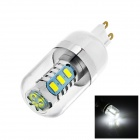 OU8-2 G9 6W LED Bulb White Light 6500K 390lm SMD 5630 - White (AC 85 ~ 265V)