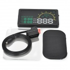 "I5 6"" Screen HUD Head Up Display System for Car - Black"