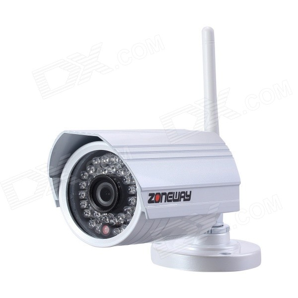 ZONEWAY 2.0MP Outdoor Mini Network IP Camera - Wit (US Plugs)
