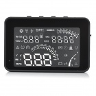 "W03 4"" Screen HUD Head Up Display System for Car - Black"