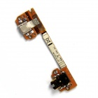 Replacement Flex Cable w/ Charger Port / Headphone Jack for Google Nexus 7 - Golden + Silver