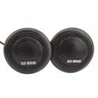 Jtron Car Modification 25mm Silk Film Tweeter - Black (DC12V / Pair)