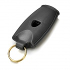 Outdoor Land-and-water Emergency / Suvival Whistle w/ Key Ring - Deep Grey