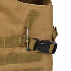 CS War Game Nylon Body Protector Molle Carrier Tactical Vest - Tan