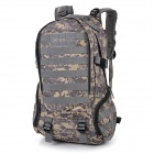 Outdoor Molle Military War Game Nylon Tactical Shoulders Bag Backpack - Camouflage (35L)