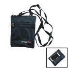 Y28001 Casual Outdoor Sports Nylon Zippered Messenger Bag - Sapphire Blue