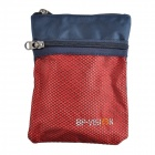 Y28001 Casual Outdoor Sports Nylon Zippered Messenger Bag - Red (3L)