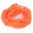 erstatning nylon + bomull stropp for yo-yo - orange (10PCS)
