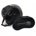 Moon MOM-20 Protective Outdoor Light Helmet for Skiing - Black + Green (L)