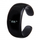"HX-001 0.94"" Multifunctional Bluetooth Waterproof Smart Wristband Watch w/ Speaker - Black"