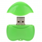Heart Shaped USB 2.0 Flash Drive - Verde ( 32GB )