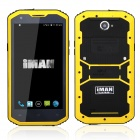 "iMAN i8800 Android 4.4 MSM8916 1.3GHz Quad Core 4G Phone w / 5,5 "", 1 GB RAM, GPS, IP68-Schwarz + Gelb"