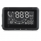 "W01 5,5 ""HUD Head-up-Display-System w / Tachometer / OBD II Kabel - Schwarz"