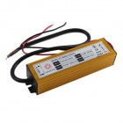 YF-50W Waterproof 50W LED Driver - Golden (AC 85~265V)