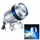 Merdia Universal 12W 1200lm 470nm Blue Light LED Angel Eye Motorcycle Spotlight Headlight (12~60V)