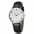Genuine Bergmann 1953 Classic Unisex Watch - Black + White