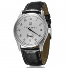 Genuine Bergmann 114 Classic Men's Watch - Black + White