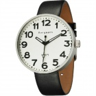 Genuine Bergmann 1909 Classic Men's Watch - Black + White
