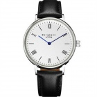 Genuine Bergmann 1931 Classic Men's Watch - Black + White