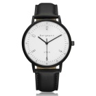Genuine Bergmann 1933 Classic Unisex Watch - Black + White