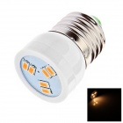 HB-005 E27 2W LED Lamp Bulb White Light 6500K 90lm SMD 5630 - White (AC 220V)