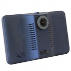 "7"" 1080P Android 4.4 GPS Car DVR w/ Radar WiFi 16GB EU Map - Black"