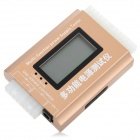 "Multi-Function 1.8"" LCD PC Computer Power Supply Tester (Fifth Generation) - Golden + White"
