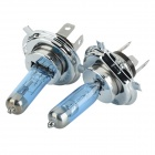 PEGASUS H4 100W Car Halogen Bulbs White Light 4000K 2100lm - Blue + Silver (12V / 2 PCS)