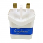 lepards universele intelligente snel opladen power adapter oplader - Blauw