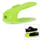 Creative Stylish Plastic Shoes Rack - Grass Green