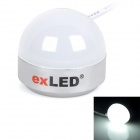 exLED 5W USB Computer Desktop LED Light White 6000K 200lm SMD 5630 - White (DC 5V)