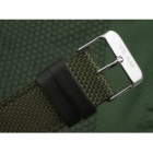 VILAM V2003G Men's Knitted Belt Analog Quartz Wrist Watch - Green