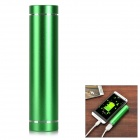 DIY 1 x 18650 Li-ion Battery USB Charger Power Bank Box Case w/ LED Indicator - Green
